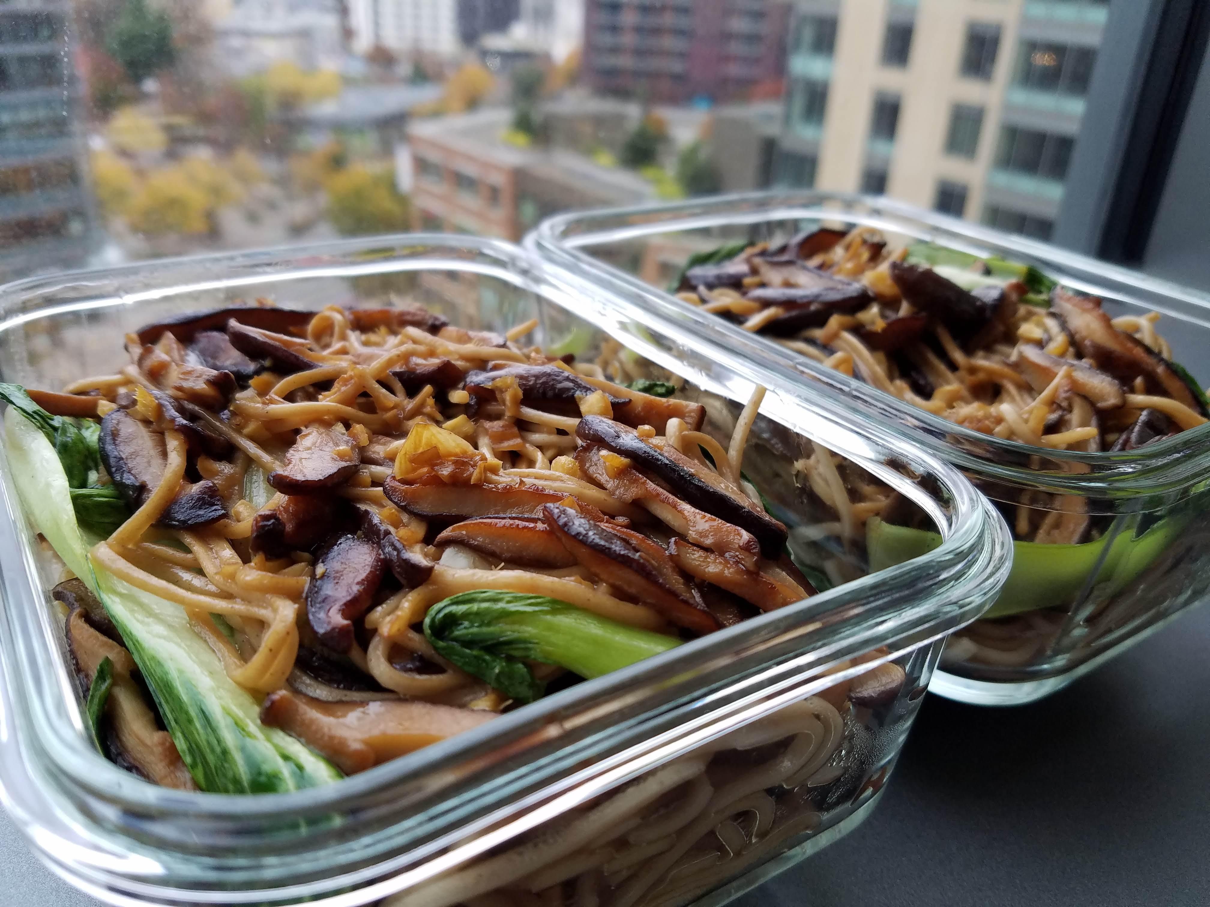 Meal Prep Vegan Soba Noodles